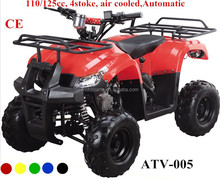 air cooled engine electric start Automatic 110CC 125CC 4 stoke cheap atv for sale