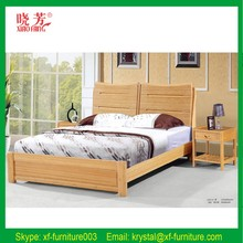 Furniture bedroom sets round bamboo bed for sale