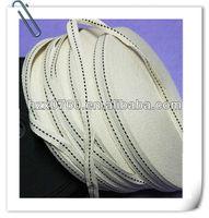 Taffeta metallic stretch ribbon for paper bag making machine