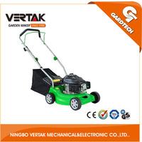 Vertak garden with 40L plastic collection bag hand push grass cutter