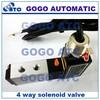 4 way solenoid valve operation, 110V 220V 12v 24v 4V210-08 4-ports electric solenoid valve, explosion proof solenoid valve