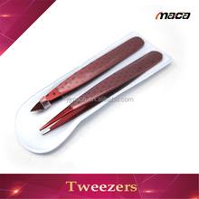 TW1218 wholesale OEM mini painting stainless steel tweezers