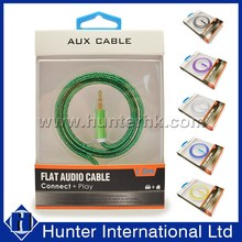 High Quality 3.5mm Cable Sound Output Aux Cable
