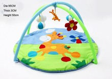 Round Baby Gym Play Mat / Infant Blanket Gym Baby Educational Pads 3D Activity Play Mat / Crawling Mat For Babies