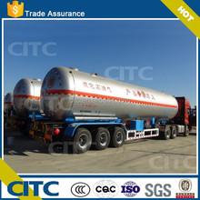 3-axle semi trailer 57m3 lpg tanker truck/lpg gas tank truck