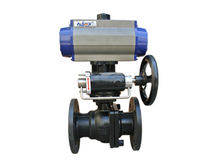 See larger image China factory supply Two piece ball valve flange king industrial company