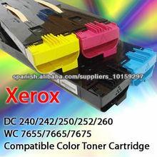 Cartuchos de toner de color compatible Para IPSD DC250 hecho por IPS en Corea
