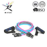 Plastic tube resistance band