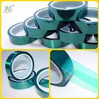 200C Green PET High Temperature Masking Adhesive Protect Film Tapes