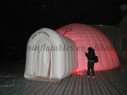 inflatable ultra light dome tent for party