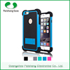 Cell phone cover TPU+PC+Silicon anti-friction 3 in 1 dual layer case design mobile phone back cover for Apple iphone 6 plus
