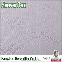 70% polyester 30% bamboo waterproof mattress protector ticking fabric