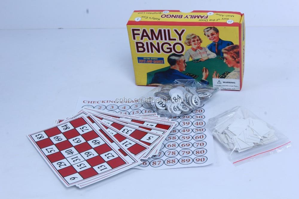 6 card bingo blackout game