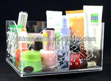 Crystal Colorful Acrylic Clear Cube Makeup Organizer