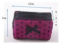 Hot Sell Promotional Mesh Fashion Travel Cosmetic Bag