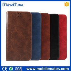 2015 New Arrival Crazy Pattern Wallet Magnetic Flip Stand TPU+ PU Leather Case for iPhone 6S, for iPhone 6S TPU+PU Case