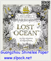 2015 most popular Children coloring books /adult coloring books/Lost ocean