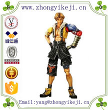 2015 chinese factory custom made handmade carved hot new products resin final fantasy figure