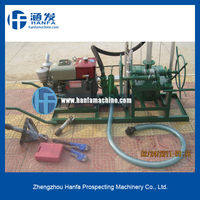 for water well use, HF80 handheld drilling machine