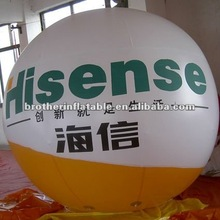 2012 hot big round helium balloon for promotion