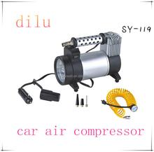 DC 12V car air compressor,150 psi air pump,180w car tire inflator