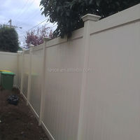 pvc plastic vinyl recycled privacy fence