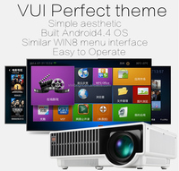 Full HD Native 1080p HDMI game play multimedia digital TV HD movie portable home theater projector