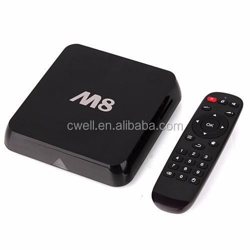 M8 4K Kitkat Android TV Box