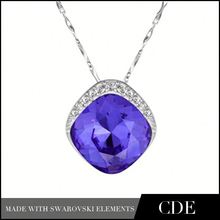 Crystal Gifts Pendant Necklace Wholesale Art Deco Jewelry
