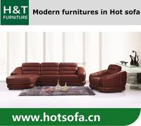 European Style Sectional Sofa, Modern Black Sectional Sofa, Promotion Leather Sectional Sofa T816