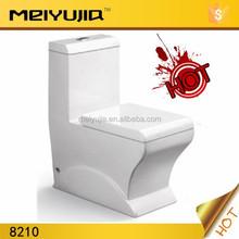8210R China sanitaryware bathroom china washdown/siphonic one piece wc porcelain ceramic toilet
