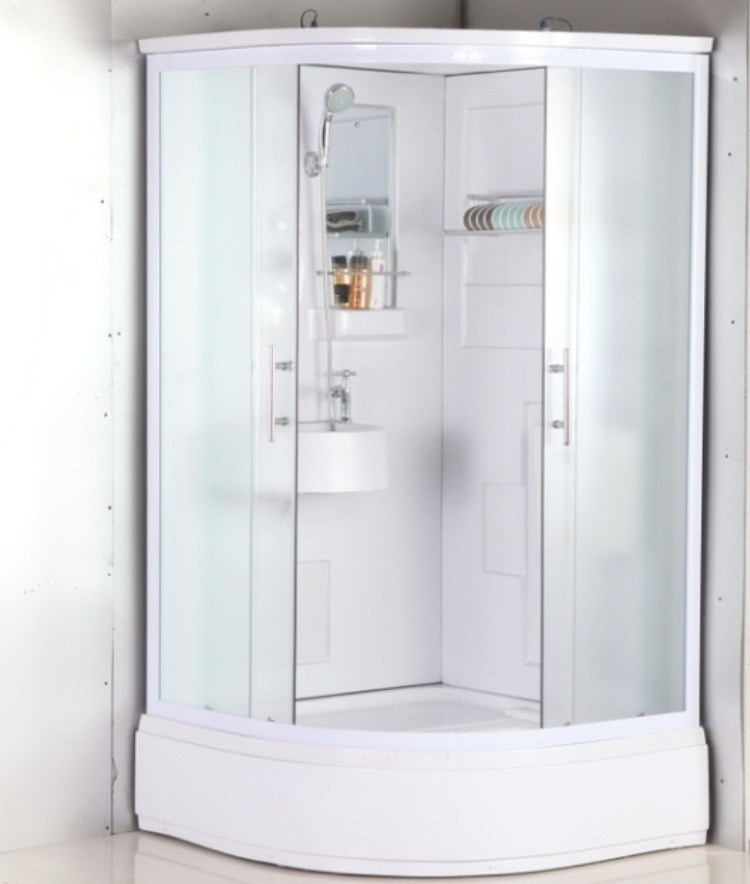 Integral Free Standing Shower Cubicle - Buy Integral Shower Cubicle ...