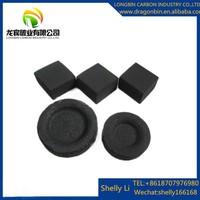 LONGBIN002 factory direct price stick shape 500g/box packing machine made bamboo shisha charcoal