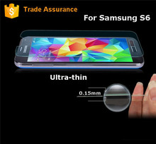 99% High Transparancy Tempered Glass Screen Protector For Samsung S6