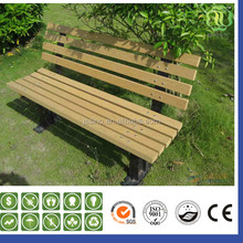 Patio wood composite garden furniture,WPC swimming pool bench