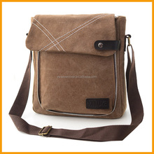 Fashion School Messenger Shoulder Canvas Bag Men