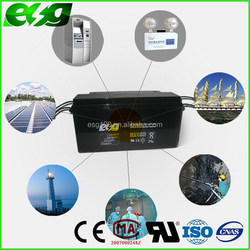 Deep cycle working 70% reach 1800times 12v 150ah sealed lead acid battery for solar and wind hybrid system
