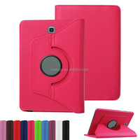 """china mobile phone 360 Degrees Rotating Stand Leather Smart Cover Case for samsung galaxy tab s2 8.0"""" case alibaba china"""