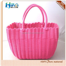 Braided PP/PE Straw Shopping Tote