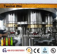 glass bottle yellow beer 1L Beer filling machine