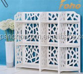 Popular exported wood plastic plate decorative wall shelf