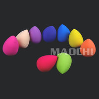 cosmetic puff sponge Lovely Colorful Makeup Sponge cosmetic makeup sponge for cleaning face