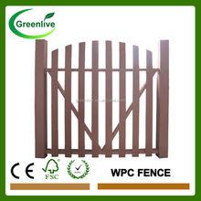 Wood Plastic Composite Garden Fence Panel