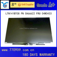 Grade A+ Laptop LCD Monitor LTN141BT08 for T400S T410S