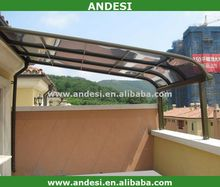 modern design waterproof aluminum pergola product for sunshade