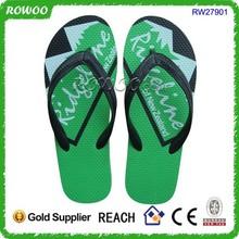 New hot selling customized logo rubber beach men's flip-flops manufacturer