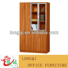 2013 new design cheap price 3 doors wooden office filing cabinet/bookcase/office cupboard/file cabinets M2204