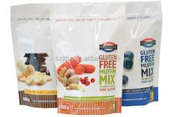 opp cpp bopp plastic bags for frozen food