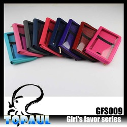 More cheaper PU leather bag cell phone cover case for samsung galaxy S4