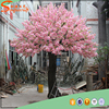 silk artificial trees cherry blossoms and fake artificial indoor/outdoor cherry blossom tree for Wedding decoration